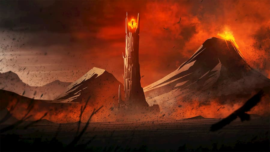 Mordor from Lord of the Rings